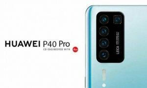 แง้มภาพหลุด! Huawei P40 Pro อาจจะมีกล้องกลัง 5 ตัว ติดกล้องหน้าใต้กระจกด้วย